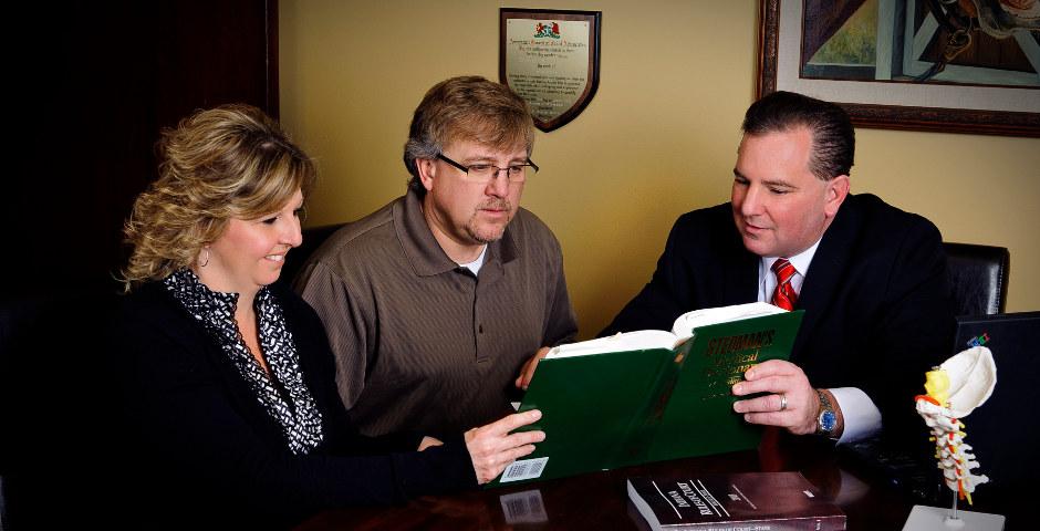 Attorney Advising Clients